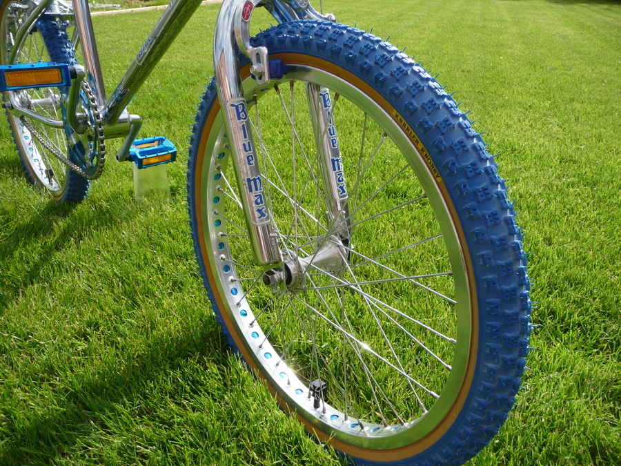 1984 Mongoose Blue Max Finished Riding Research